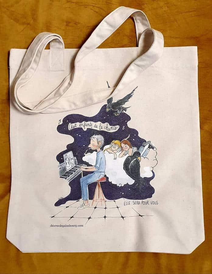 """Featured image for """"Tote Bag Enfants de la chance"""""""